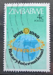Poštovní známka Zimbabwe 1980 Rotary Intl., 75. výroèí Mi# 242