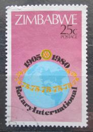 Poštovní známka Zimbabwe 1980 Rotary Intl., 75. výroèí Mi# 245