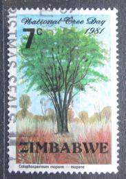 Poštovní známka Zimbabwe 1981 Mopan Mi# 256