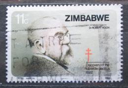 Poštovní známka Zimbabwe 1982 Robert Koch Mi# 269