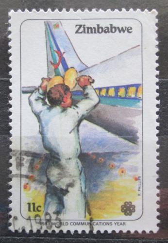 Poštovní známka Zimbabwe 1983 Letadlo Mi# 281
