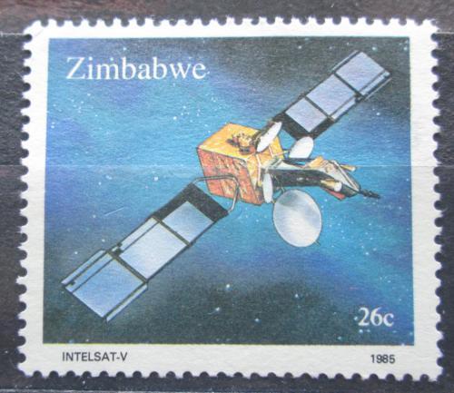 Poštovní známka Zimbabwe 1985 Intelsat-V Mi# 307 Kat 2.50€