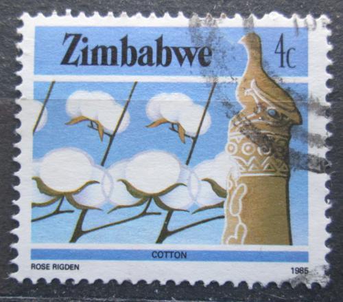 Poštovní známka Zimbabwe 1985 Bavlna Mi# 311 A
