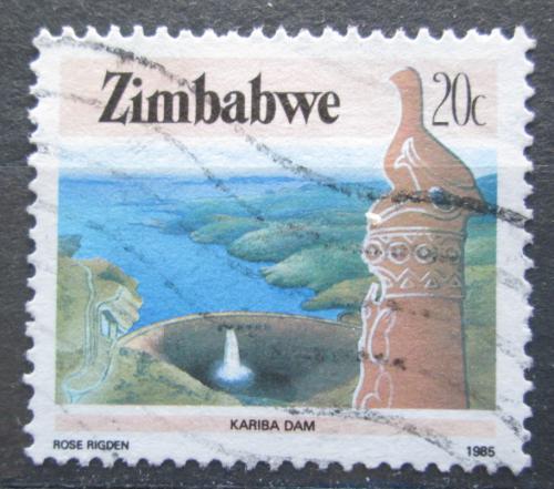 Poštovní známka Zimbabwe 1985 Pøehradní nádrž Kariba Mi# 320 A