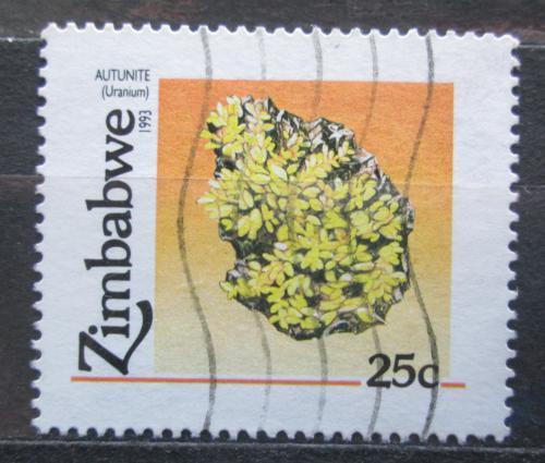 Poštovní známka Zimbabwe 1993 Uran Mi# 494
