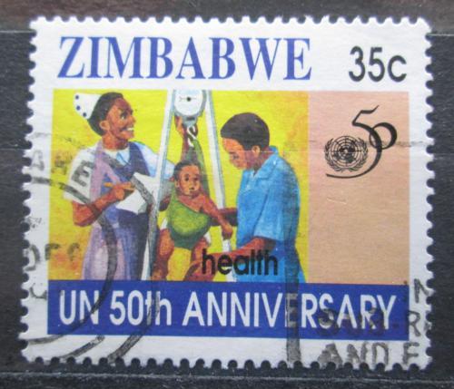Poštovní známka Zimbabwe 1995 OSN, 50. výroèí Mi# 564