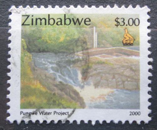 Poštovní známka Zimbabwe 2000 Vodní projekt na øece Pungwe Mi# 663
