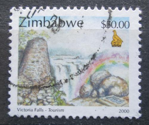 Poštovní známka Zimbabwe 2000 Viktoriiny vodopády Mi# 671