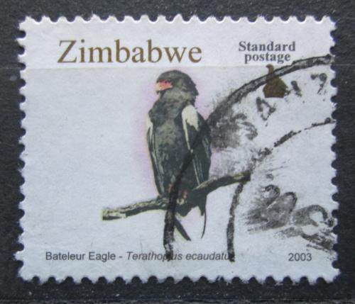 Poštovní známka Zimbabwe 2003 Orlík kejklíø Mi# 756