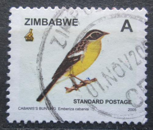 Poštovní známka Zimbabwe 2005 Strnad savanový Mi# 809