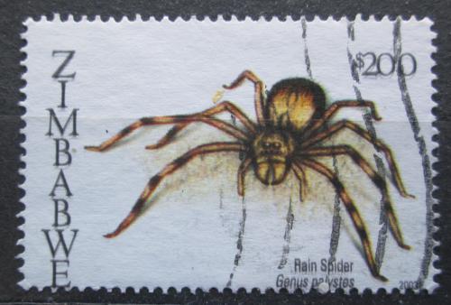 Poštovní známka Zimbabwe 2003 Pavouk, Palystes Mi# 761