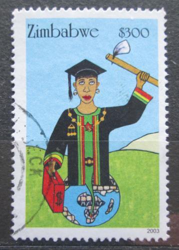 Poštovní známka Zimbabwe 2003 Boj za práva žen Mi# 766