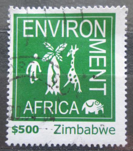 Poštovní známka Zimbabwe 2004 Ochrana životního prostøedí Mi# 774