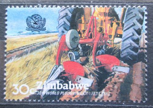 Poštovní známka Zimbabwe 1983 MS v orání Mi# 279