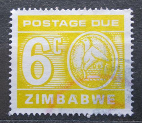 Poštovní známka Zimbabwe 1980 Nominál, doplatní Mi# 19