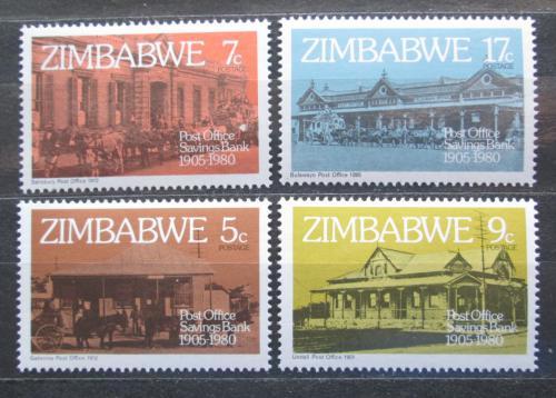 Poštovní známky Zimbabwe 1980 Pošty Mi# 247-50