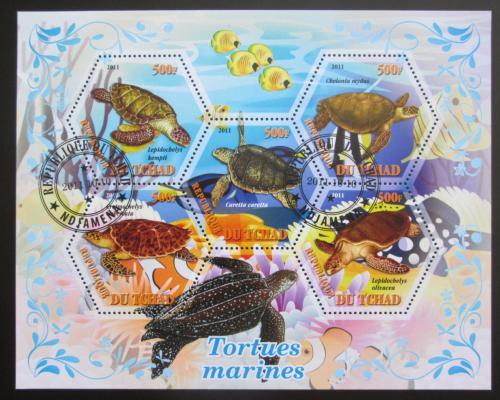 Poštovní známky Èad 2011 Želvy Mi# N/N