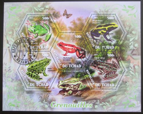 Poštovní známky Èad 2011 Žáby Mi# N/N