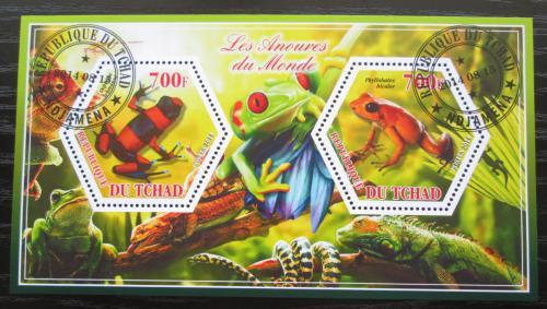 Poštovní známky Èad 2014 Žáby Mi# N/N