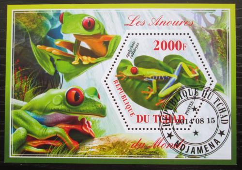 Poštovní známka Èad 2014 Žáby Mi# N/N