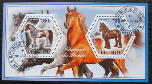 Poštovní známky Èad 2014 Konì Mi# N/N