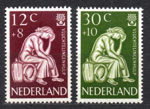 Poštovní známky Nizozemí 1960 Svìtový rok uprchlíkù Mi# 744-45