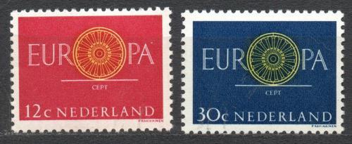 Poštovní známky Nizozemí 1960 Evropa CEPT Mi# 753-54