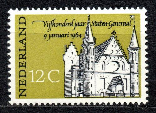 Poštovní známka Nizozemí 1964 Gravenhage v Haagu Mi# 817