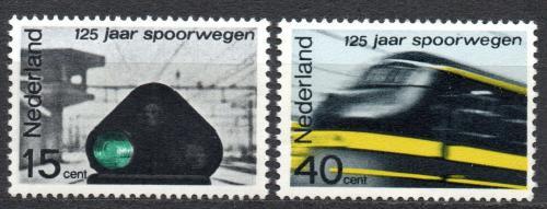 Poštovní známky Nizozemí 1964 Železnice Mi# 824-25