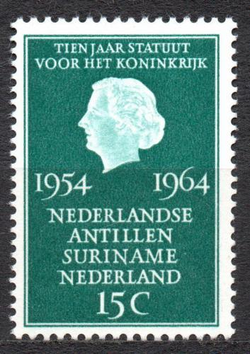 Poštovní známka Nizozemí 1964 Královna Juliana Mi# 835