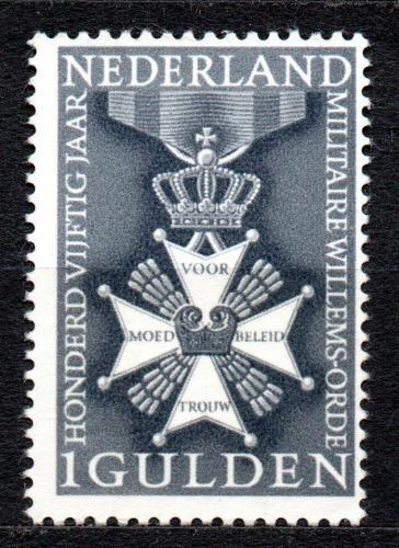 Poštovní známka Nizozemí 1965 Vojenský øád Mi# 839