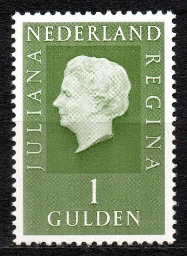 Poštovní známka Nizozemí 1969 Královna Juliana Mi# 914 x