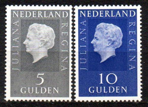 Poštovní známky Nizozemí 1970 Královna Juliana Mi# 944-45 x Kat 15€
