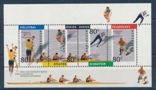 Poštovní známky Nizozemí 1992 Olympijské hry Mi# Block 36