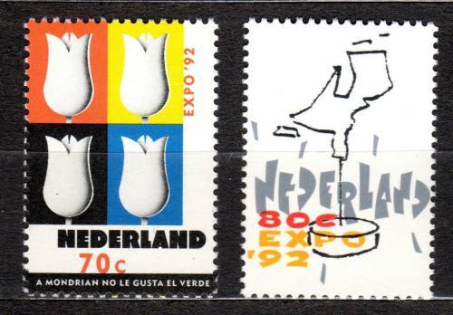 Poštovní známky Nizozemí 1992 EXPO Sevilla Mi# 1433-34