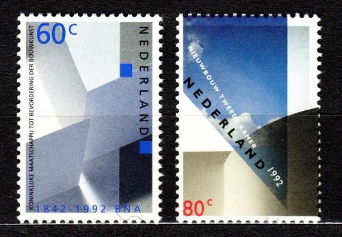 Poštovní známky Nizozemí 1992 Architektura Mi# 1439-40