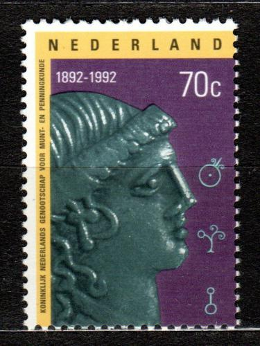 Poštovní známka Nizozemí 1992 Svaz numismatikù, 100. výroèí Mi# 1443