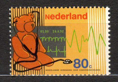 Poštovní známka Nizozemí 1992 Dìtské lékaøství Mi# 1444