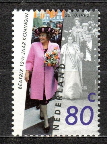 Poštovní známka Nizozemí 1992 Královna Beatrix Mi# 1450