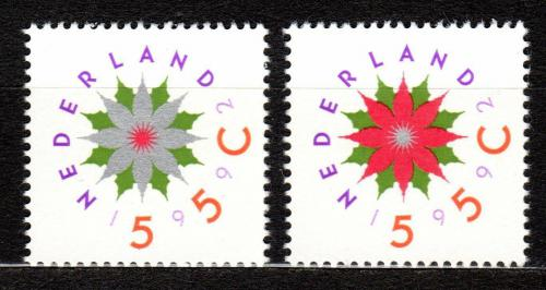 Poštovní známky Nizozemí 1992 Vánoce Mi# 1458-59