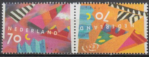 Poštovní známky Nizozemí 1993 Pozdravy Mi# 1462-63