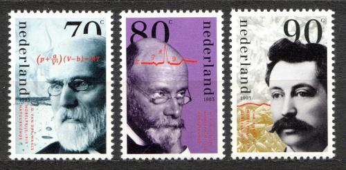 Poštovní známky Nizozemí 1993 Nositelé Nobelovy ceny Mi# 1484-86