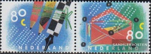 Poštovní známky Nizozemí 1993 Psaní dopisù Mi# 1488-89