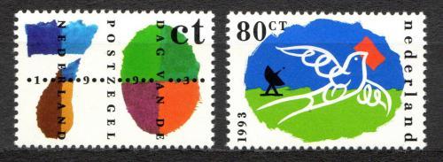 Poštovní známky Nizozemí 1993 Den známek Mi# 1490-91
