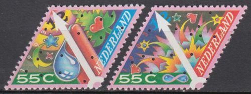 Poštovní známky Nizozemí 1993 Vánoce Mi# 1496-97