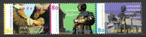 Poštovní známky Nizozemí 1998 Výroèí Mi# 1649-51