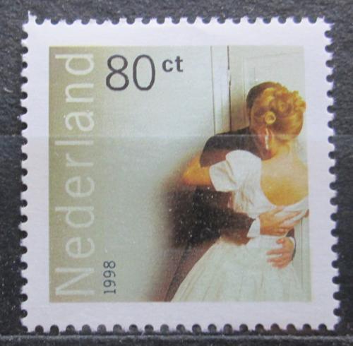 Poštovní známka Nizozemí 1998 Nevìsta a ženich Mi# 1652