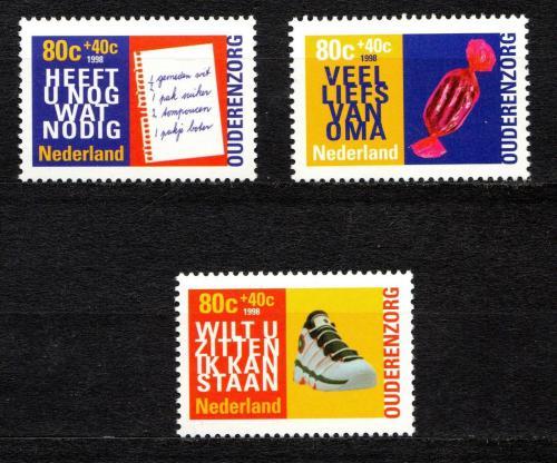 Poštovní známky Nizozemí 1998 Práce seniorù Mi# 1653-55
