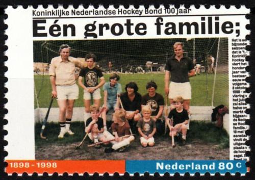 Poštovní známka Nizozemí 1998 Pozemní hokej Mi# 1658