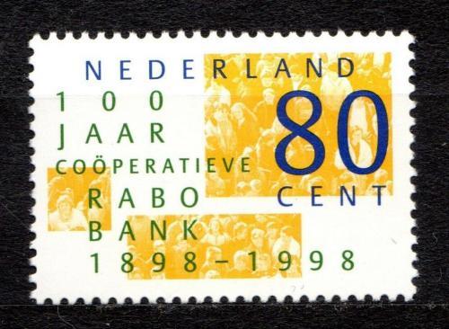 Poštovní známka Nizozemí 1998 Dav lidí Mi# 1659